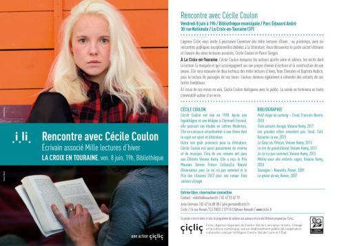 La Croix en Touraine - Cécile Coulon
