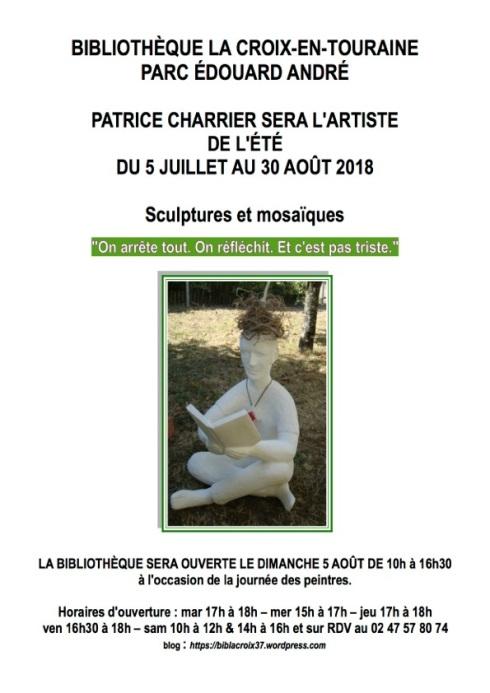 Expo été 2018 Patrice Charrier